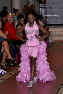 Kayla-Marie Ripped the Runway for Unforgettable Divas in the Serenity Nights Fashion Show
