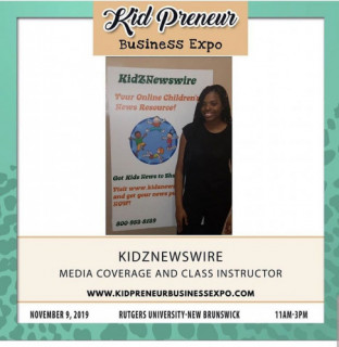 KidZNewswire to Host Press Release Writing Workshop at the 2019 Kidpreneur Business Expo